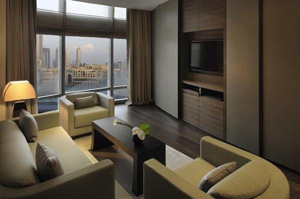 Výhled zArmani Hotel Dubai