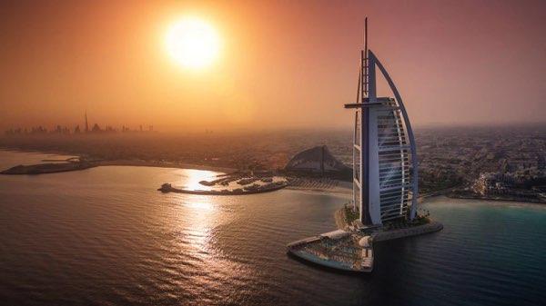 Výhled zBurj Al Arab Jumeirah