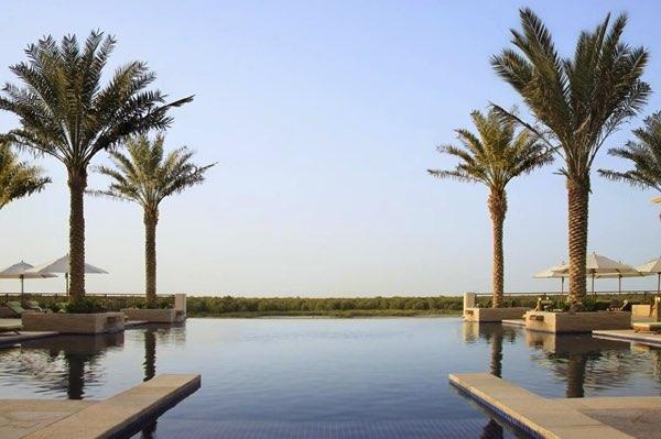 Výhled zAnantara Eastern Mangroves Hotel & Spa