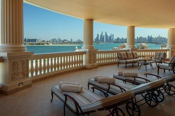 Výhled zEmerald Palace Kempinski Dubai