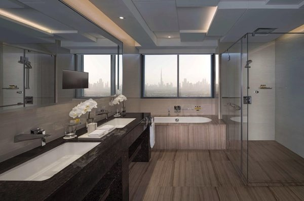Просмотры от Hyatt Regency Dubai Creek Heights