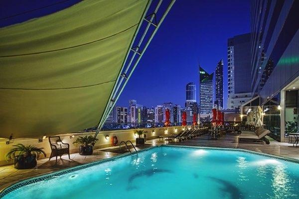 Výhled zCorniche Hotel Abu Dhabi