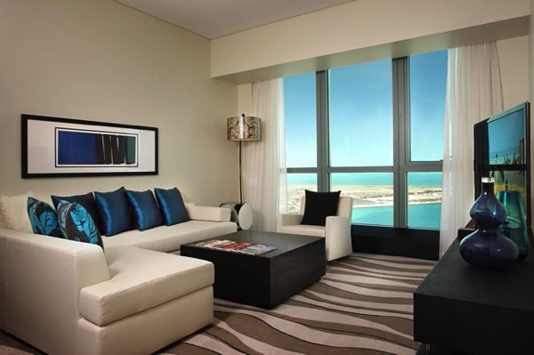 Výhled zSofitel Abu Dhabi Corniche