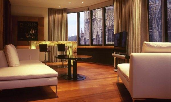 Výhled zDO&CO Hotel Vienna