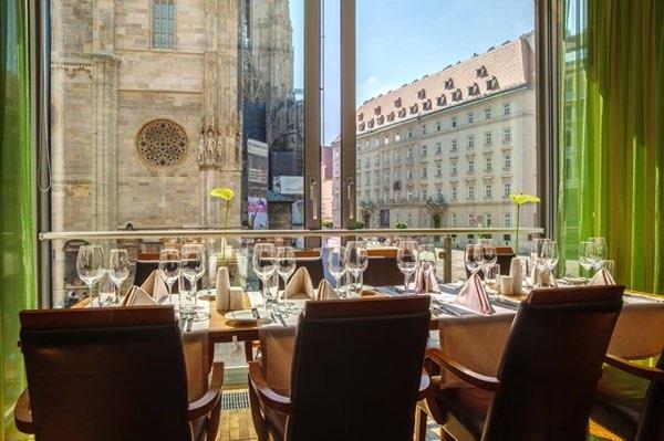 Výhled zHotel Am Stephansplatz
