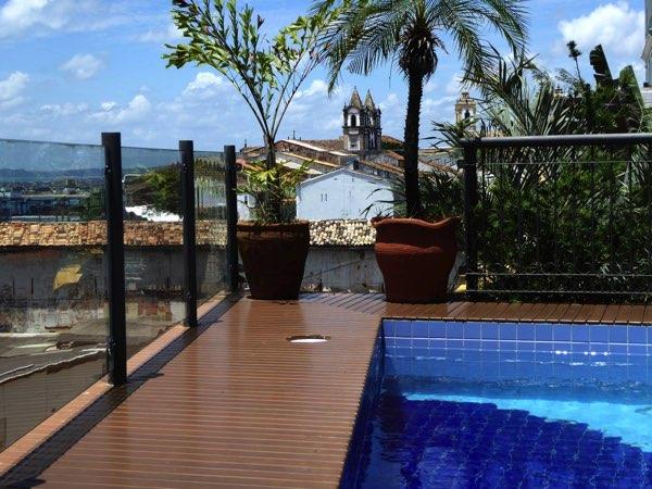 Výhled zHotel Casa do Amarelindo