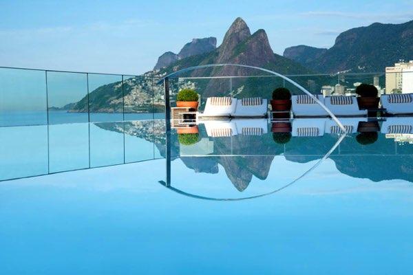Výhled zHotel Fasano Rio de Janeiro