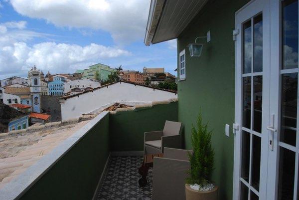 Výhled zPousada Bahia Pelô