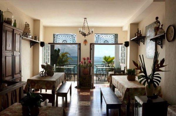 Výhled zPousada Casa Vila Bela