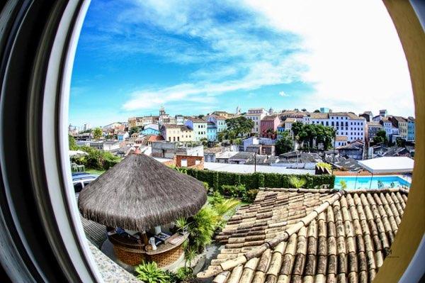Výhled zHotel Pousada da Mangueira