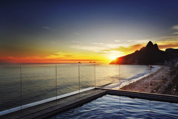 Výhled zSol Ipanema Hotel