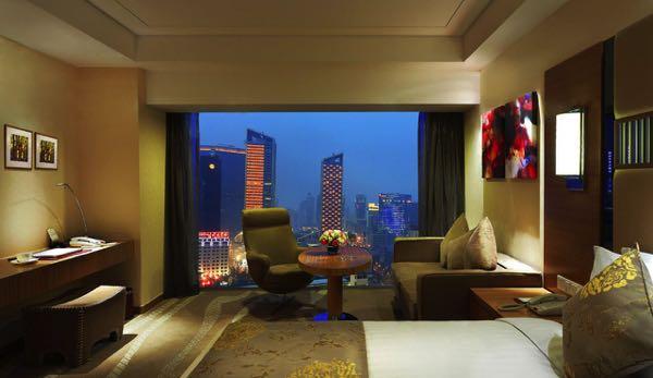 Výhled zGalaxy minyoun Chengdu Hotel