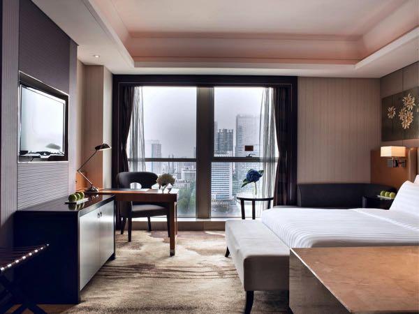 Výhled zLia! Chengdu Hotel