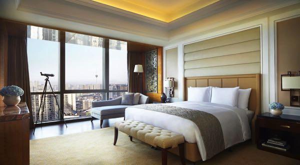 Výhled zThe Ritz-Carlton, Chengdu