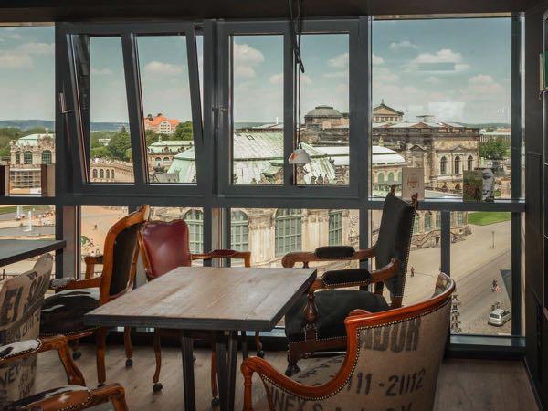 Views from Felix Suiten im Lebendigen Haus am Zwinger