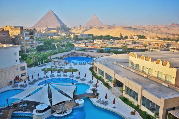 Views from Le Meridien Pyramids Hotel & Spa
