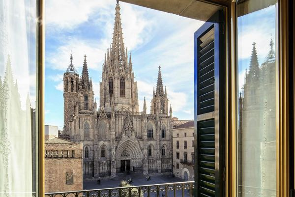 Views from Colón Hotel Barcelona