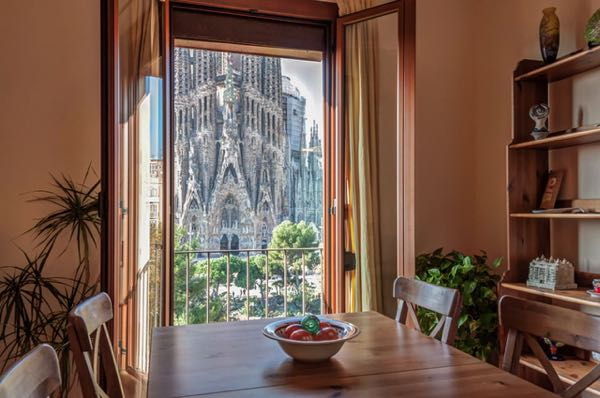 Views from Gaudi's Nest Apartments