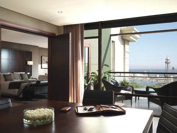 Views from Hotel Miramar Barcelona GL