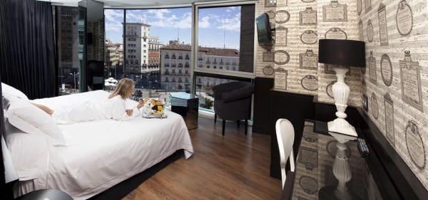 Výhled zHotel Santo Domingo
