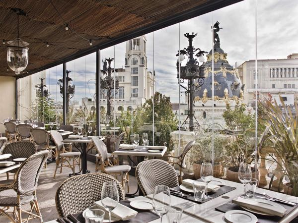 Výhled zThe Principal Madrid