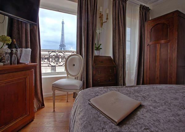 Ansichten von Eiffel Trocadéro