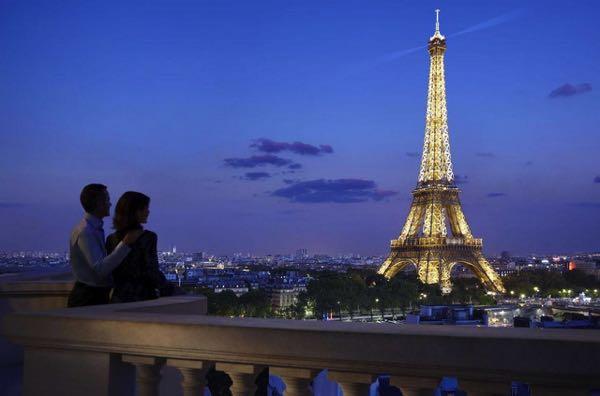Ansichten von Shangri-La Hotel, Paris