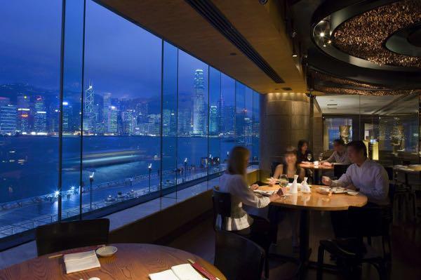 Výhled zInterContinental Hong Kong
