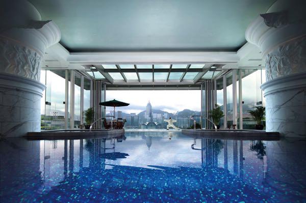 Výhled zThe Peninsula Hong Kong