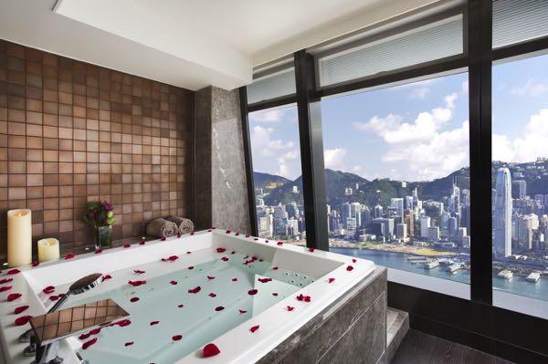Výhled zThe Ritz-Carlton Hong Kong