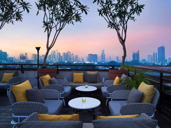 Výhled zThe Hermitage, A Tribute Portfolio Hotel, Jakarta