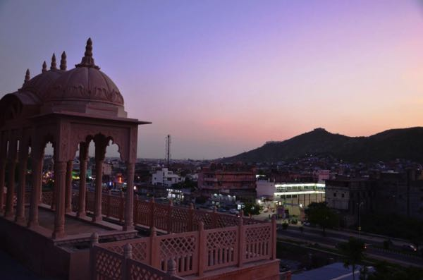 Views from Crimson Park - The Heritage Jalmahal