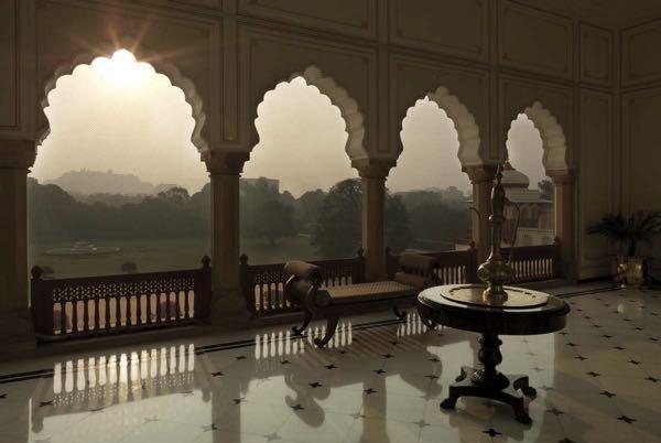 Views from Taj Rambagh Palace