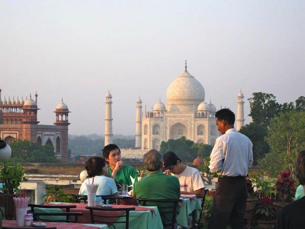 Views from Hotel Saniya Palace