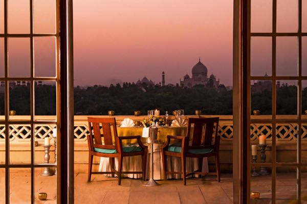 Views from The Oberoi Amarvilas Agra