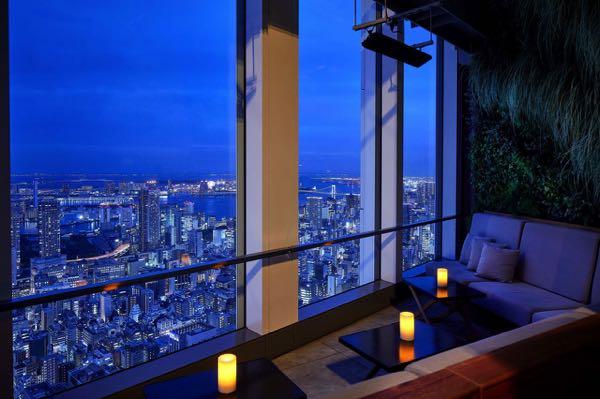 Výhled zAndaz Tokyo - A Concept by Hyatt