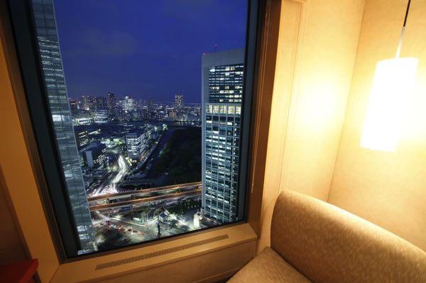 Výhled zThe Royal Park Hotel Tokyo Shiodome