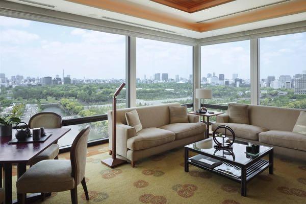 Výhled zThe Peninsula Tokyo