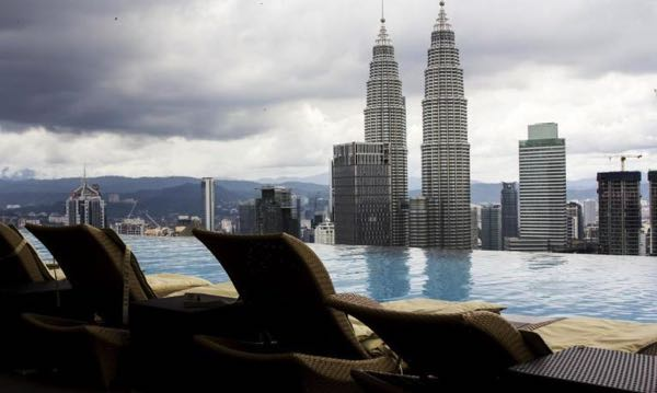 Views from Delice Suites at Platinum KLCC