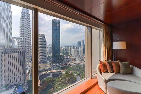Views from Grand Hyatt Kuala Lumpur