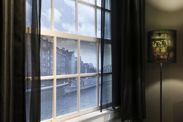 Výhled zEden Hotel Amsterdam