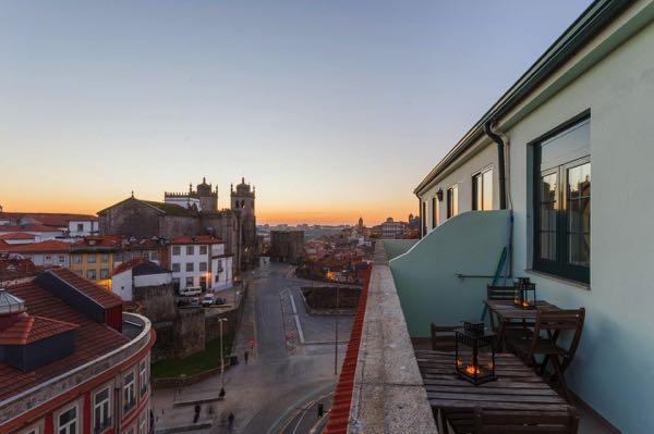 Výhled zFeel Porto Historical Flats