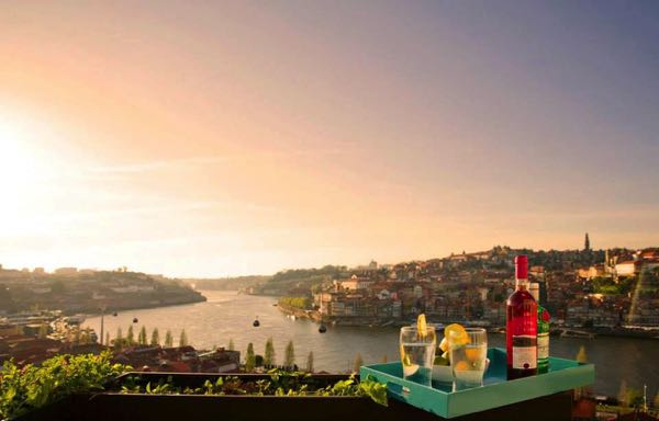 Výhled zFLH - Porto Vista House
