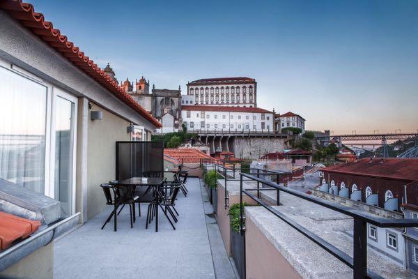 Výhled zThe House Ribeira Porto Hotel