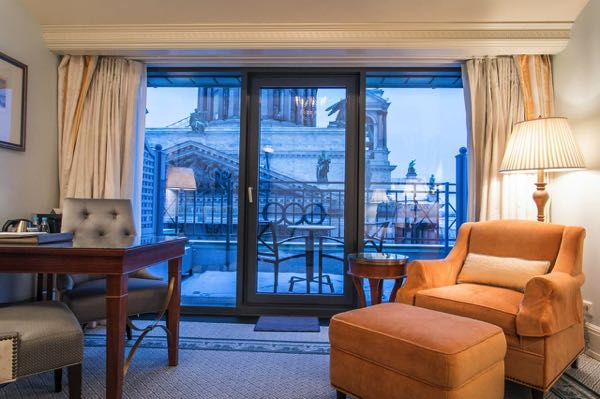 Views fromFour Seasons Hotel Lion Palace St. Petersburg