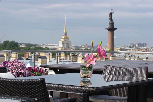 Výhled zKempinski Hotel Moika 22