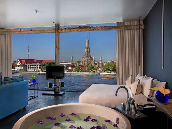 Výhled z Sala Rattanakosin Bangkok
