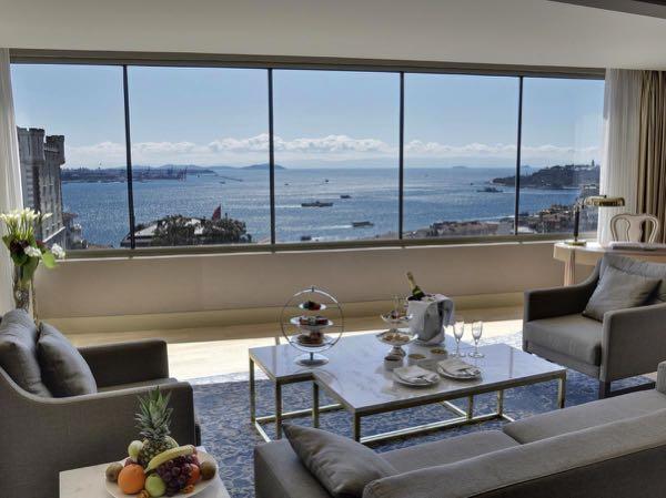 Views from CVK Park Bosphorus Hotel Istanbul