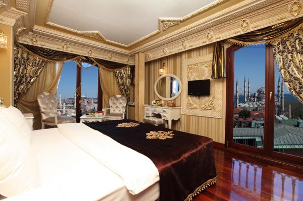 Views fromDeluxe Golden Horn Sultanahmet Hotel