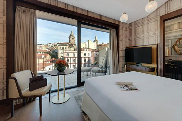 Views from The Galata Istanbul Hotel - MGallery by Sofitel